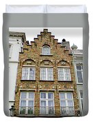 Bruges Window 15 Duvet Cover