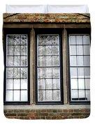 Bruges Window 3 Duvet Cover