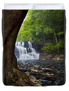 Brush Creek Falls II Duvet Cover