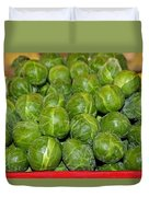 Brussel Sprouts Duvet Cover