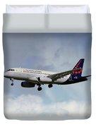 Brussels Airlines Sukhoi Superjet 100-95b Duvet Cover