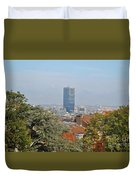 Brussels View Duvet Cover