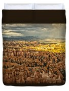 Bryce At Sunset Duvet Cover