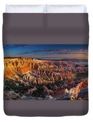 Bryce Canyon Early Morning Duvet Cover