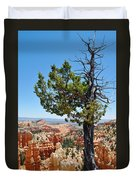 Bryce Canyon Fairyland Point Portrait Duvet Cover