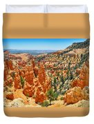 Bryce Canyon Fairyland Vista Duvet Cover