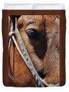 Bryce Canyon Horse Portrait Duvet Cover