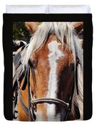 Bryce Canyon Horseback Ride Duvet Cover