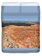 Bryce Canyon Inspiration Point Duvet Cover