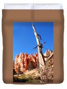 Bryce Canyon Lonely Tree Duvet Cover