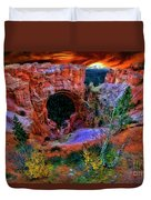 Bryce Canyon Natural Bridge Duvet Cover