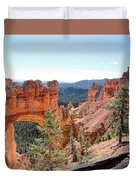 Bryce Canyon Natural Bridge - Utah Duvet Cover
