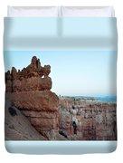 Bryce Canyon Navajo Loop Trail Window Duvet Cover