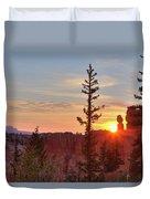 Bryce Canyon Sunrise Duvet Cover