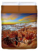 Bryce Canyon Sunrise Duvet Cover