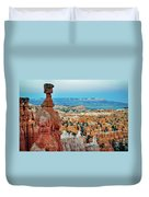 Bryce Canyon Thors Hammer Duvet Cover