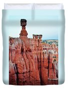 Bryce Canyon Thors Hammer Portrait Duvet Cover