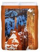 Bryce Canyon Winter 4 Duvet Cover