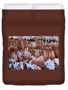 Bryce Canyon Winter 9 Duvet Cover