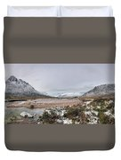 Buachaille Winter Panorama Duvet Cover