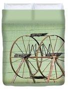 Bubbas  Fairs Wheel Duvet Cover