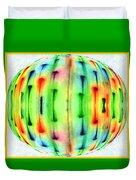 Bubble Lights Duvet Cover