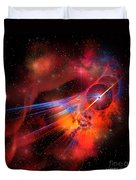 Bubble Nebula Duvet Cover