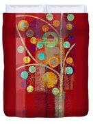 Bubble Tree - 85lc13-j678888 Duvet Cover