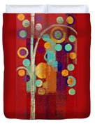 Bubble Tree - 85rc13-j678888 Duvet Cover