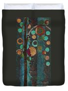 Bubble Tree - Spc02bt05 - Right Duvet Cover by Variance Collections