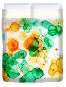 Bubbleicious Duvet Cover