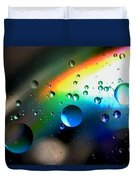 Bubbles Abstract Duvet Cover