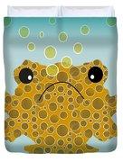 Bubbles The Fish Duvet Cover