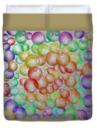 Bubbly Bubbles 2 Duvet Cover