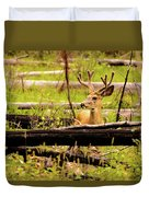 Buck In Velvet Duvet Cover