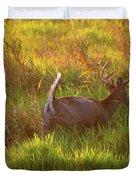 Buck On The Run  Duvet Cover