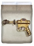 Buck Rogers Ray Gun Duvet Cover