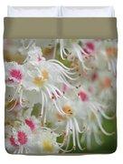Ohio Buckeye Blooms Duvet Cover