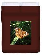 Buckeye Butterfly Duvet Cover