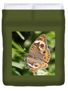 Buckeye Butterfly Square Duvet Cover