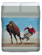 Bucking Bronco Duvet Cover