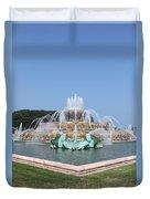 Buckingham Fountain Duvet Cover