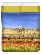 Buckingham Palace London Panorama Duvet Cover