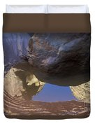 Buckskin Gulch Reflection Duvet Cover