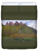 Buckskin Mtn And Friends Duvet Cover