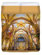 Budapest - Mathias Cathedral Duvet Cover