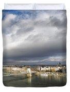 Budapest Panorama Duvet Cover