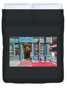 Budapest Storefront Duvet Cover