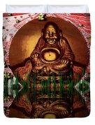 Buddha Garden Duvet Cover