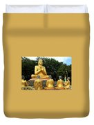 Buddha In Cambodia Duvet Cover